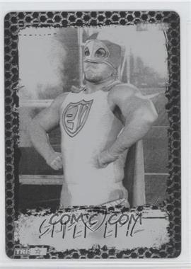 2008 TRISTAR TNA Wrestling Impact! - [Base] - Printing Plate Black #32 - Super Eric /1