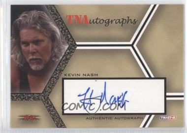 2008 TRISTAR TNA Wrestling Impact! - TNAutographs - Gold #A-KN - Kevin Nash /50