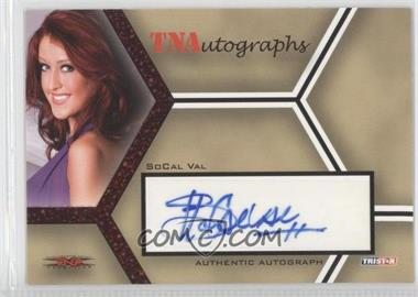 2008 TRISTAR TNA Wrestling Impact! - TNAutographs - Red #A-SV - SoCal Val /25