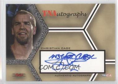 2008 TRISTAR TNA Wrestling Impact! - TNAutographs #A-CC - Christian Cage