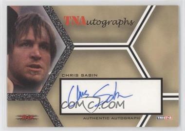 2008 TRISTAR TNA Wrestling Impact! - TNAutographs #A-CS - Chris Sabin