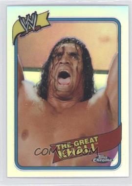 2008 Topps WWE Heritage Chrome - [Base] - Refractors #5 - The Great Khali