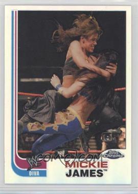 2008 Topps WWE Heritage Chrome - [Base] - Refractors #67 - Mickie James