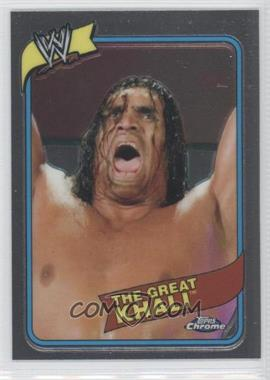 2008 Topps WWE Heritage Chrome - [Base] #5 - The Great Khali