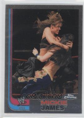 2008 Topps WWE Heritage Chrome - [Base] #67 - Mickie James
