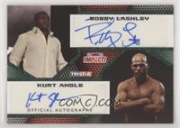 Bobby Lashley, Kurt Angle #/10