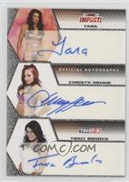 Tara, Christy Hemme, Traci Brooks