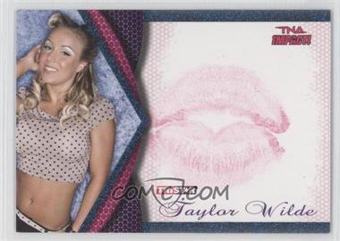 2009 TRISTAR TNA Impact! - Knockouts Kiss - Blue #8 - Taylor Wilde /25