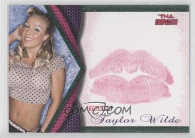2009 TRISTAR TNA Impact! - Knockouts Kiss - Green #8 - Taylor Wilde /10