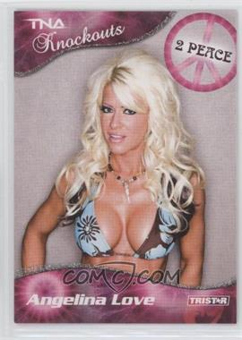 2009 TRISTAR TNA Wrestling Knockouts - [Base] - Silver #21 - Angelina Love /40