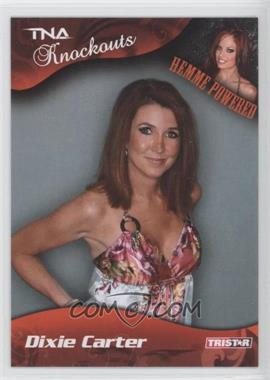 2009 TRISTAR TNA Wrestling Knockouts - [Base] #33 - Dixie Carter