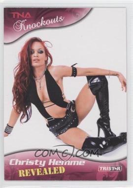 2009 TRISTAR TNA Wrestling Knockouts - [Base] #99 - Christy Hemme