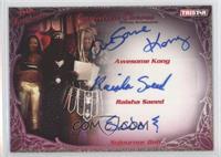 Awesome Kong, Raisha Saeed, Sojournor Bolt #/75