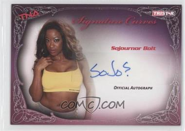 2009 TRISTAR TNA Wrestling Knockouts - Signature Curves #KA12 - Sojournor Bolt