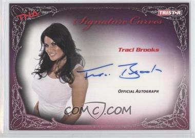 2009 TRISTAR TNA Wrestling Knockouts - Signature Curves #KA14 - Tracy Brooks