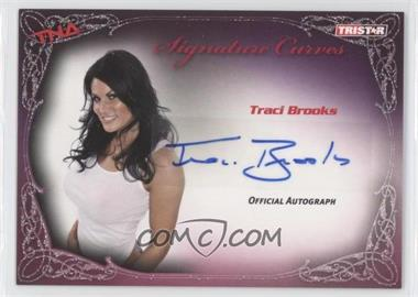 2009 TRISTAR TNA Wrestling Knockouts - Signature Curves #KA14 - Tracy Brooks