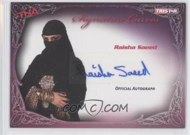 2009 TRISTAR TNA Wrestling Knockouts - Signature Curves #KA8 - Raisha Saeed
