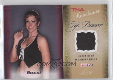 2009 TRISTAR TNA Wrestling Knockouts - Top Drawer Memorabilia #TD-6 - Roxxi Laveaux /175