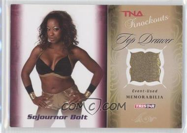 2009 TRISTAR TNA Wrestling Knockouts - Top Drawer Memorabilia #TD-8 - Sojournor Bolt /175
