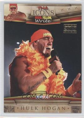 2010 TRISTAR TNA Icons - [Base] - Gold #40 - Hulk Hogan /25