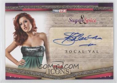 2010 TRISTAR TNA Icons - Sugar & Spice Autographs - Gold #SS9 - SoCal Val /50