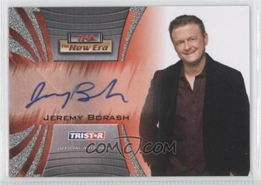 2010 TRISTAR TNA The New Era - Autographs - Silver #A20 - Jeremy Borash