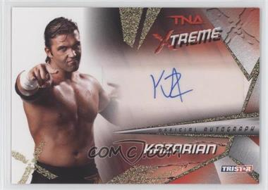 2010 TRISTAR TNA Xtreme - Autographs - Gold #X41 - Kazarian /99