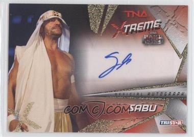 2010 TRISTAR TNA Xtreme - Autographs #X5 - Sabu
