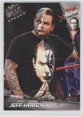 2010 TRISTAR TNA Xtreme - [Base] - Gold #76 - Jeff Hardy /10