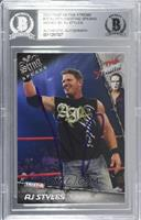AJ Styles [BAS Certified Encased by BGS]