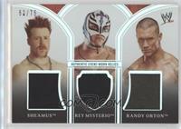 Sheamus, Rey Mysterio, Randy Orton /75