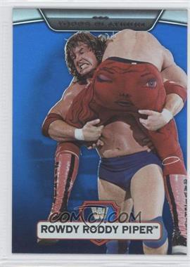 2010 Topps Platinum WWE - [Base] - Blue #121 - Roddy Piper /199