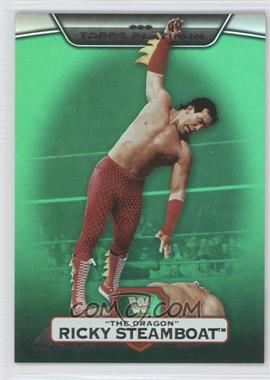 "2010 Topps Platinum WWE - [Base] - Green #17 - Ricky ""The Dragon"" Steamboat /499"