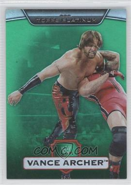 2010 Topps Platinum WWE - [Base] - Green #49 - Vance Archer /499