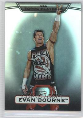 2010 Topps Platinum WWE - [Base] - Rainbow #21 - Evan Bourne