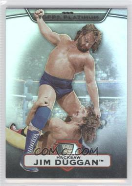 2010 Topps Platinum WWE - [Base] - Rainbow #39 - Jim Duggan