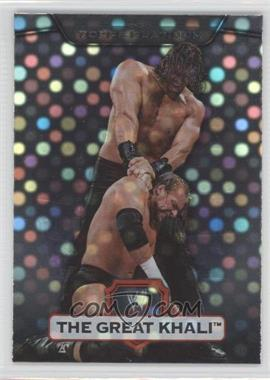 2010 Topps Platinum WWE - [Base] - X-Fractor #26 - The Great Khali
