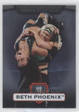2010 Topps Platinum WWE - [Base] #24 - Beth Phoenix