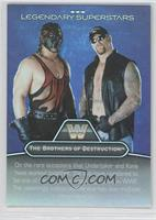 The Brothers of Destruction, Road Warriors