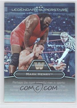2010 Topps Platinum WWE - Legendary Superstars #LS-7 - Mark Henry, One Man Gang