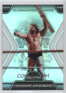 2010 Topps Platinum WWE - Platinum Performance #PP-5 - Jim Duggan