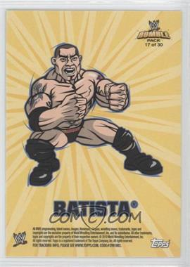2010 Topps Rumble Pack - [???] #17 - Batista