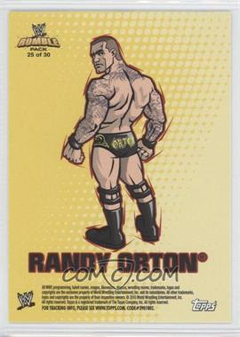 2010 Topps Rumble Pack - [???] #25 - Randy Orton
