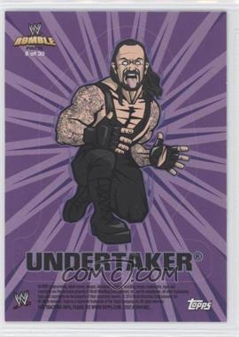 2010 Topps Rumble Pack - [???] #8 - Undertaker