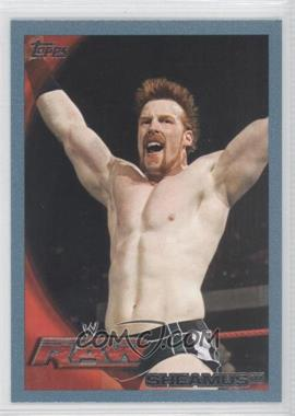2010 Topps WWE - [Base] - Blue #55 - Sheamus /2010