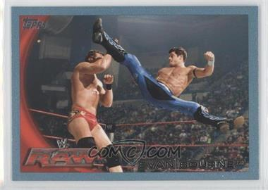 2010 Topps WWE - [Base] - Blue #57 - Evan Bourne /2010