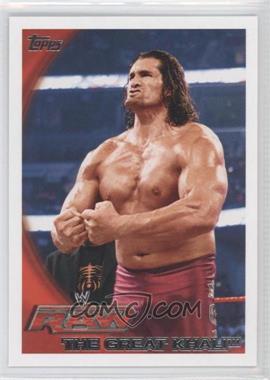 2010 Topps WWE - [Base] #62 - The Great Khali