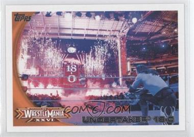 2010 Topps WWE - [Base] #73 - Undertaker