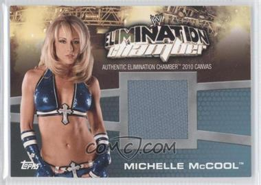 2010 Topps WWE - Elimination Chamber Mat Relics #EC-9 - Michelle McCool
