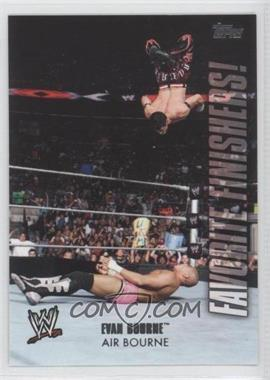 2010 Topps WWE - Favorite Finishers! #FF6 - Evan Bourne